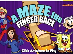 A Maze Ing Finger Race