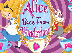 Alice Back From Wonderland