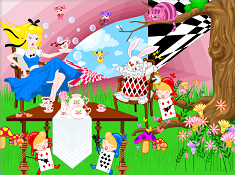 Alice in Wonderland Decorate