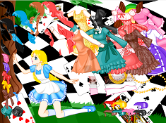 Alice Dress up