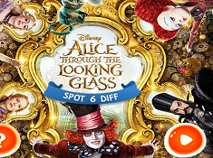 Alice Through the Looking Glass Spot 6 Diff