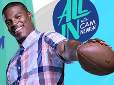 All In with Cam Newton Puzzle Mania