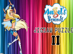 Angel Friends Jigsaw Puzzle 2