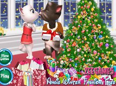 Angie Winter Fashion Tree