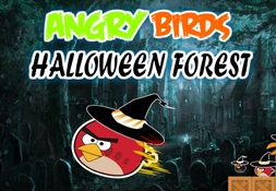 Angry Birds Forest Halloween