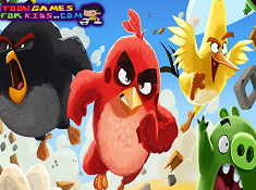 Angry Birds Hidden Letters