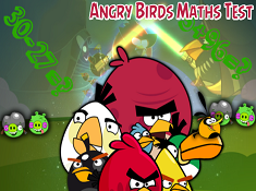 Angry Birds Math Test