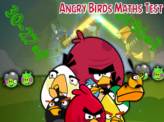 Angry Birds Maths Test