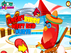 Angry Birds Meet Red Nurse