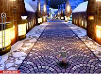 Angry Gran Christmas Village