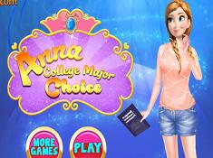 Anna College Major Choice