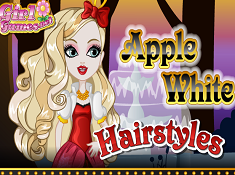 Apple White Hairstyles