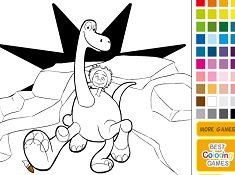 Arlo and Spot Online Coloring
