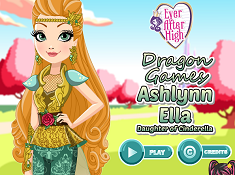 Ashlynn Ella Dragon Games
