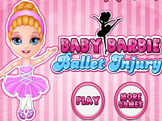 Baby Barbie Ballet Injury