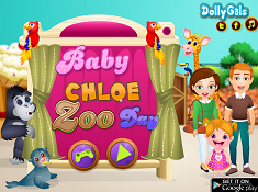 Baby Chloe Zoo Day