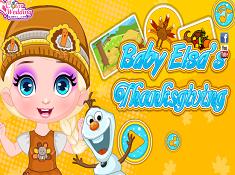 Baby Elsas Thanksgiving
