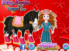 Baby Merida And Angus Care