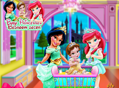 Baby Princesses Bedroom Decor