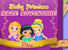 Baby Princesses Maze Adventure