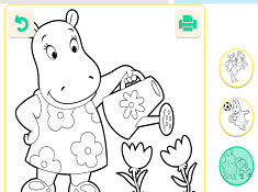 Printable Backyardigans Coloring Pages For Kids | 175x235