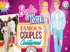 Barbie and Ken Famous Couples Costumes