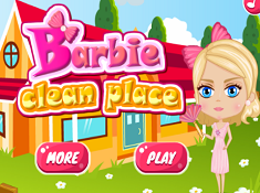 Barbie Clean Place