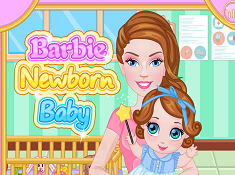 Barbie Newborn Baby