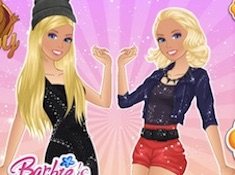 Barbie Popstar vs Rock Looks