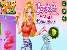 Barbies Closet Makeover