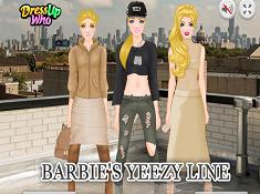 Barbies Yeezy Line