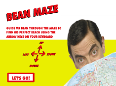 Bean Maze