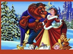 Beauty and the Beast Christmas Jigsaw