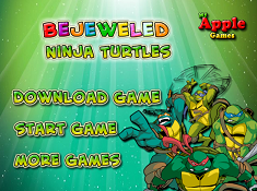 Bejeweled Ninja Turtles