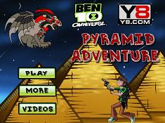Ben 10 Omniverse Pyramid Adventure