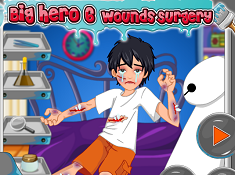 Big Hero 6 Wounds Surgery