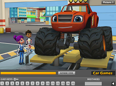 Blaze and The Monster Machines Hidden Keys
