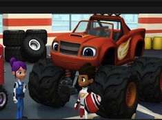 Blaze and the Monster Machines Symbol Memory