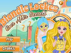 Blondie Lockes Ever After High Secrets