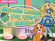 Blondie Lockes Pet Day at School