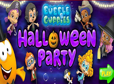 Bubble Guppies Halloween Party