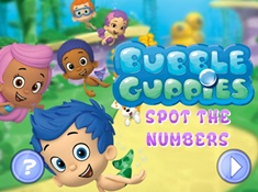 Bubble Guppies Hidden Numbers