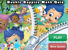 Bubble Guppies Math Quiz
