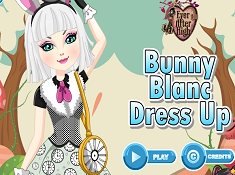 Bunny Blanc Dress Up