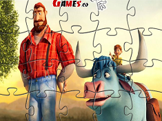 Bunyan and Babe Jigsaw