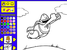 Captain Underpants Coloring