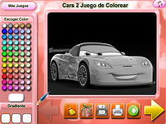 Cars 2 Coloring
