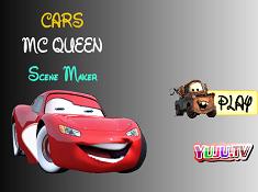 Cars McQueen Scene Maker