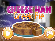 Cheese Ham Greek Pie