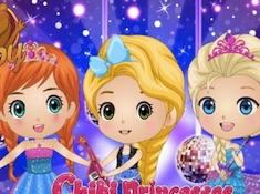 Chibi Princesses Rock N Royals Style